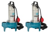 GQS(M) 50 Series Vortex Submersible Pumps