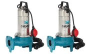 GQV(M) 50 Series Vortex Submersible Pumps