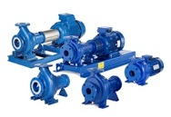 Lowara e-NSC 2 Pole End Suction Pumps