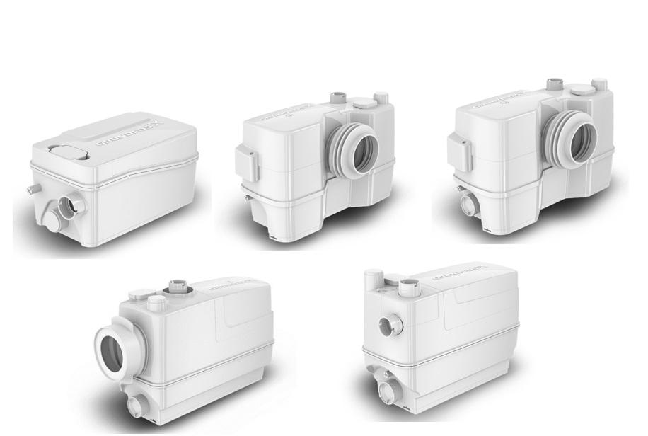 Grundfos Sololift2 Sanitary Pumps