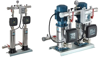 Easymat 2MX Variable Speed Twin Booster Sets