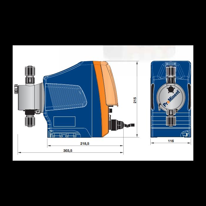 ProMinent Gamma X Solenoid Pump 6 8l/hr