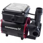 Grundfos SSR2-2.0 C Single Impeller Regenerative Shower Booster Pump (x2 Hoses Inc.)
