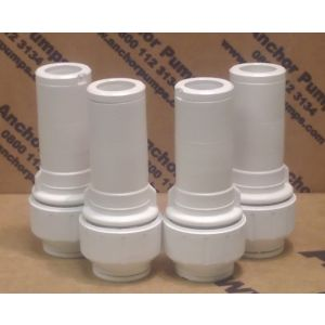 Polypipe Socket Reducer 22mm to 15mm - Pack of 4
