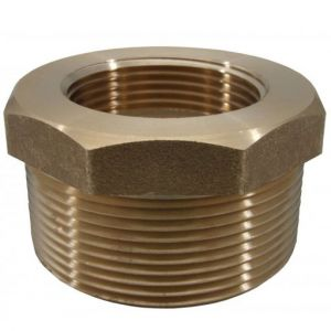 "1"" - 3/4"" (25mm-20mm) Brass Reducer Bushes"