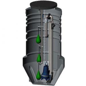 Grundfos Prefabricated Pumping Station (96235307)