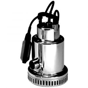 """Drenox 80-7 AUTO - 1 1/4"""" Stainless Steel Submersible Pump With Float 110v"""