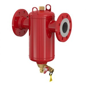 """Flamcovent Clean Smart 65F - 2 1/2"""" Flanged Inline Dirt Separator 10 Bar"""