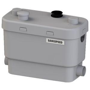 Saniflo Sanispeed + Light Commercial Sanitary Pump for Grey Water 240V