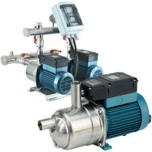 Calpeda BSM2F 2E-MXPM 205-PCD Twin Pump Horizontal Booster Set 240v