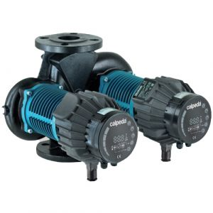 Calpeda NCED HQ 50F-180/280 Flanged Energy Efficient Twin Circulator Pump 240v