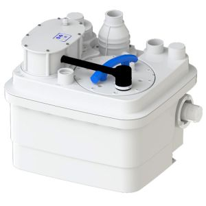 Saniflo Sanicubic 1 Heavy Duty Macerator for 2 Toilets and Multiple Grey Water Appliances 240V