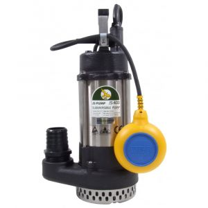 "JS 400 AUTO - 2"" Submersible Water Drainage Pump With Float Switch 240v"