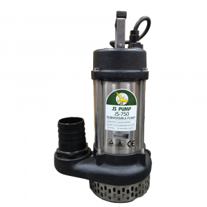 "JS 750 MAN - 3"" Submersible Water Drainage Pump Without Float Switch 110v"