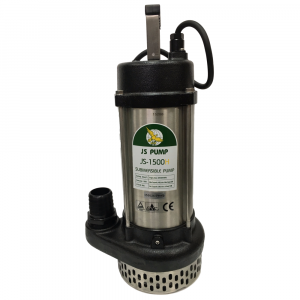 "JS 1500 H MAN - 2"" Submersible Water Drainage Pump Without Float Switch 240v"
