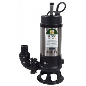 "JS-750 SK MAN - 2"" Submersible Sewage Pump With Cutter Impeller 240v"