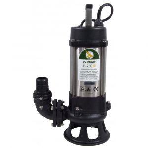 "JS-750 SK MAN - 2"" Submersible Sewage Pump With Cutter Impeller 110v"