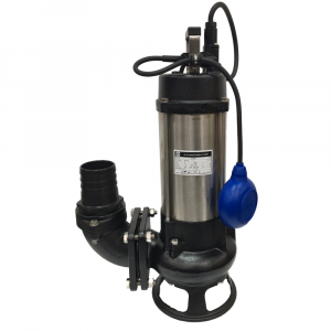 "JS-1500 SK AUTO - 3"" Submersible Sewage Pump With Cutter Impeller 240v"