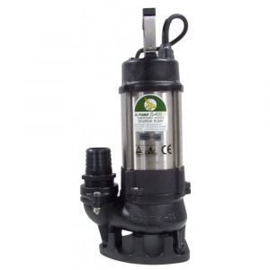 """JS 400 SV MAN - 2"""" Submersible Sewage & Waste Water Pump Without Float Switch 240v"""