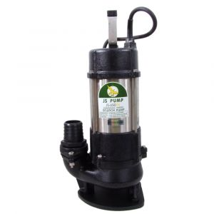 """JS 650 SV MAN - 2"""" Submersible Sewage & Waste Water Pump Without Float Switch 240v"""