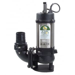 """JS 750 SV MAN - 3"""" Submersible Sewage & Waste Water Pump Without Float Switch 110v"""