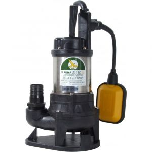 """JS 150 SVA AUTO - 1 1/4"""" Submersible Sewage & Waste Water Pump With Float Switch 240v"""