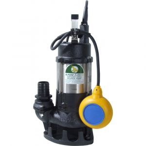 """JS 250 SV AUTO - 1 1/2"""" Submersible Sewage & Waste Water Pump With Float Switch 240v"""