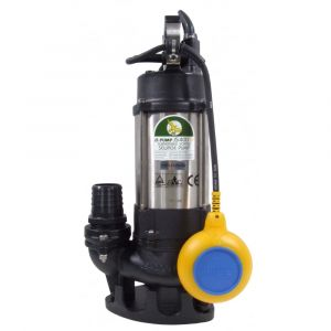"""JS 400 SV AUTO - 2"""" Submersible Sewage & Waste Water Pump With Float Switch 240v"""