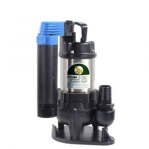 """JS 150 SVAG AUTO - 1 1/4"""" Submersible Sewage & Waste Water Pump With Tube Float Switch 240v"""