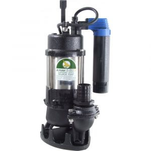 """JS 250 SV AUTO - 1 1/2"""" Submersible Sewage & Waste Water Pump With Tube Float Switch 240v"""