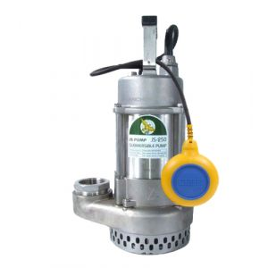 "JS-400SS Auto - 2"" All 316 Stainless Steel Submersible Drainage Pump 240v"