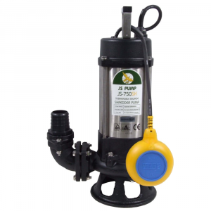 "JS-750 SK AUTO - 2"" Submersible Sewage Pump With Cutter Impeller 110v"