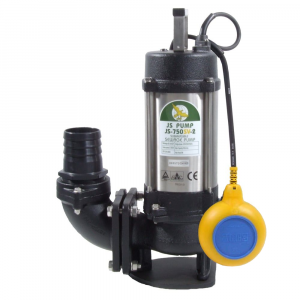 """JS 750 SV AUTO - 3"""" Submersible Sewage & Waste Water Pump With Float Switch 240v"""