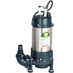 "JS GS-1500 MAN - 1 1/4"" Submersible Grinder Sewage Pump Without Float Switch 240v"