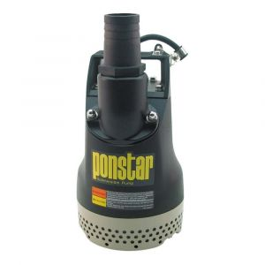 Koshin Ponstar PX Heavy Duty Submersible Drainage Pump With Float 230v
