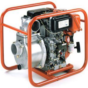 "Koshin SE80XD - 3"" Inch Diesel Powered Centrifugal Recoil Start Pump"