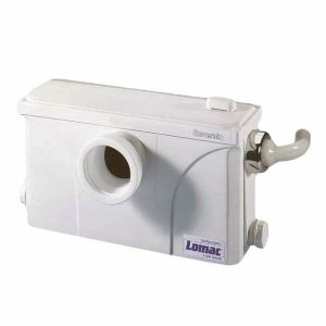 Saniflo Suverain 3000-A Domestic Sanitary System for Toilet, Sink and Shower 240v. Similar to SaniSlim