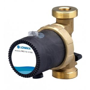 "Lowara Ecocirc Pro 15-3/110 1 1/4"" Bronze Circulator 240v"