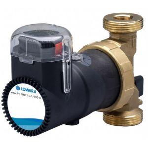 "Lowara Ecocirc Pro 15-1/110 RU 1 1/4"" Bronze Circulator with Temp Control & Timer 240v"