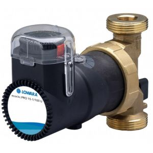 "Lowara Ecocirc Pro 15-1/110 U 1/2"" Bronze Circulator with Timer 240v"