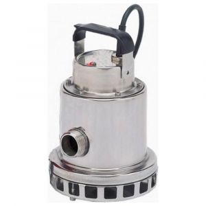 """Omnia 200-8 MAN - 1 1/4"""" Stainless Steel Vortex Submersible Pump Without Float 110v"""