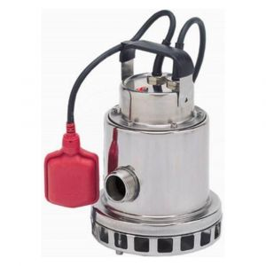 """Omnia 200-8 AUTO - 1 1/4"""" Stainless Steel Vortex Submersible Pump With Float 110v"""