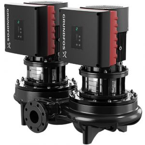 TPED 100-65/4 Series 1000 1.1kW Single Stage Twin Head 4 Pole Variable Speed In Line 415v