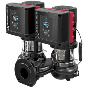 TPE3 D 40-180-S A F A BQQE 0.75kW Single Stage Twin Head Variable Speed In Line With DP+T Sensor 240v