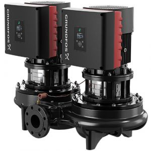 TPED 80-240/4-S Series 2000 5.5kW Single Stage Twin Head 4 Pole Variable Speed In Line 415v