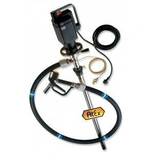 Lutz Drum Pump Set for Hazardous Fluids ME ll 3 110v Motor 1200mm Immersion Depth