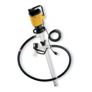 Lutz Drum Pump Set for Concentrated Acids & Alkalis MAll3 240v Motor 1000mm Immersion Depth