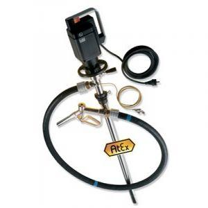 Lutz Drum Pump Set for Solvents (Complete Drum Drainage) MEll 3 110v Motor 1200mm Immersion Depth