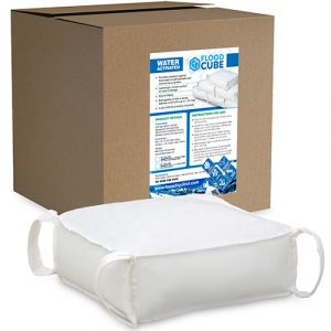 Flood Cube Water Barrier - 10x Packs of 4
