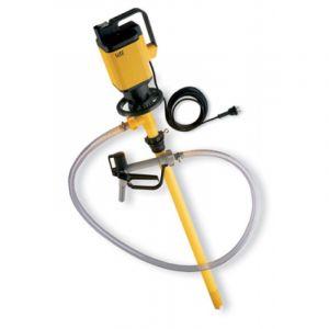 Lutz Drum Pump Set for Acids MAll3 110v Motor 1000mm Immersion Depth